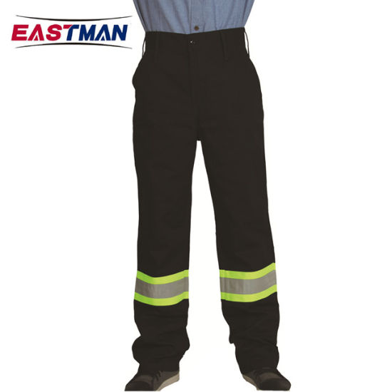 Nfpa2112 Cotton Fire Retardant Workwear Pants with Reflective Tape