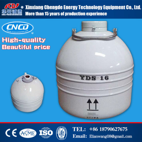 ISO Standard Liquid Nitrogen Container pictures & photos