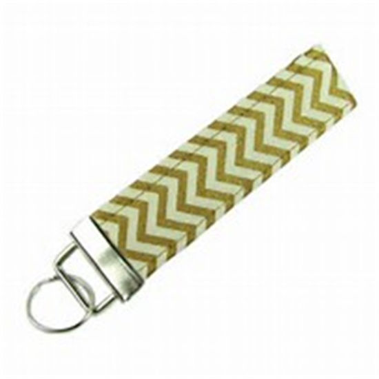 Wholesale Customized Cheap Fabric Keychain UK Watch Zinc Alloy Supplies pictures & photos