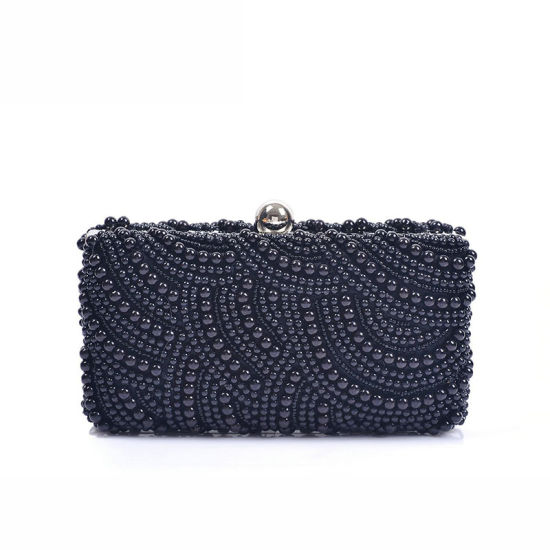 ec3ffdc1d60e Most Fashion High Quality Designer Handbag Beaded Pearl Clutch Bag pictures    photos