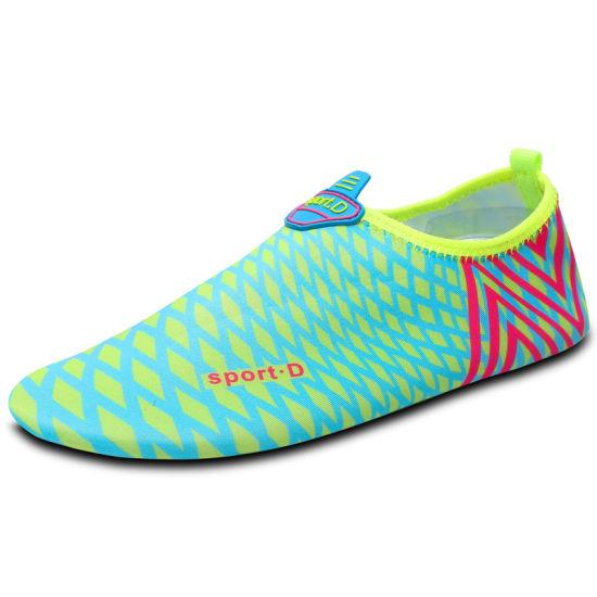 Greenshoe Wholesale Beach Rubber Anti-Slip Mens Water Shoes