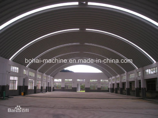 Bohai Large Span Arch Roof Forming Machine (BH914-750) pictures & photos