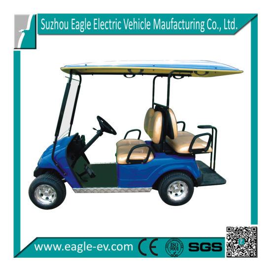 Electric Golf Car, 4 Seats, 2+2 Model, CE