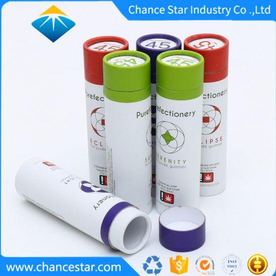 Custom Recycle Cardboard Paper Tube Box for Soft Chew