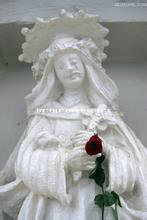 Natural White Marble Stone Carving Art Sculptures for Decoration