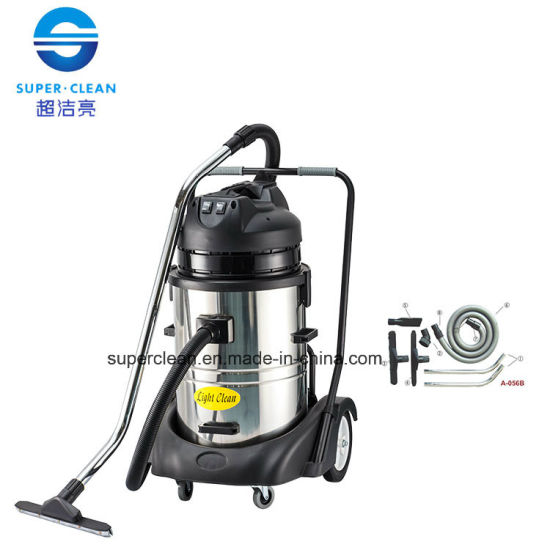 Light Clean 60L Wet and Dry Vacuum Cleaner with Deluxe Base pictures & photos