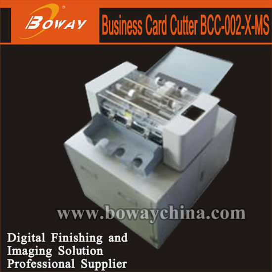 Boway 150PCS/Min Full Auto A3 Namecard Business Name Card Cutter Cutting Machine (Middle speed) pictures & photos