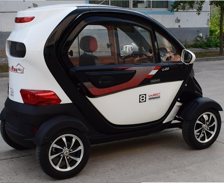 Asia Popular 800W 40km/H Mini 4 Wheels Electric Car 4 Seats pictures & photos