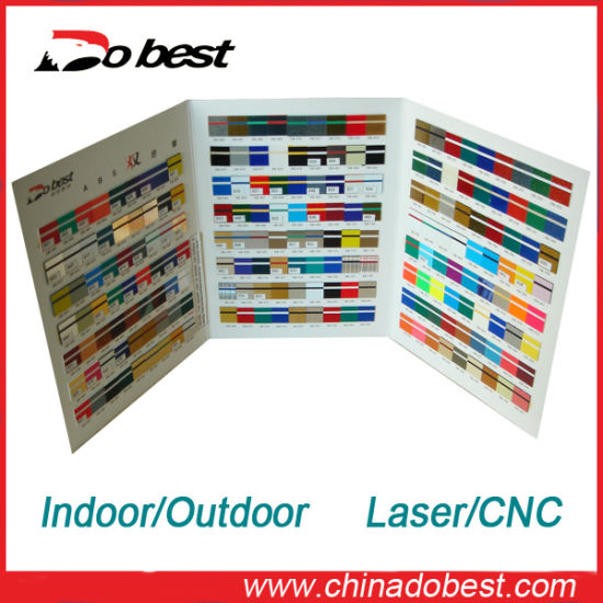 ABS Double Color Sheet for CNC Engraving pictures & photos