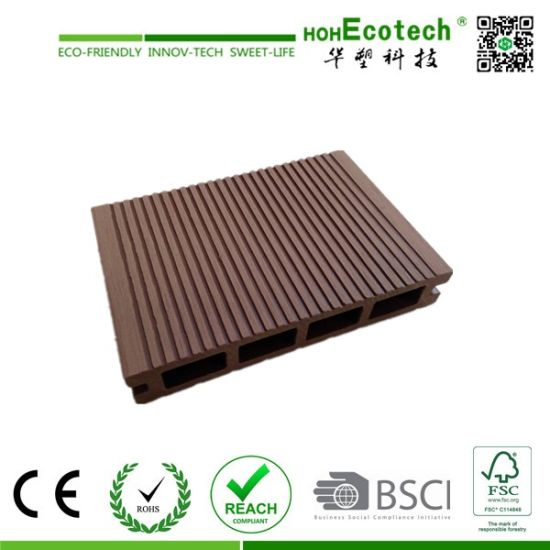 Environment Friendly Discount Wood Plastic Composite Decking Price pictures & photos