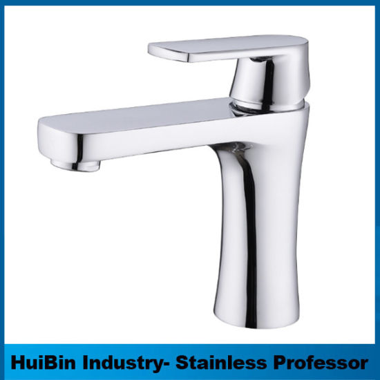 China European Style Full Brass Single Hole Bathroom Faucet - China ...