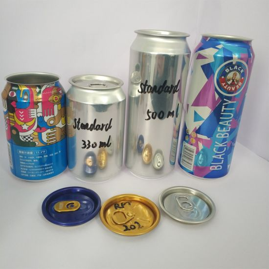 China Aluminum Beverage Cans Beer Cans 12 Oz 16 Oz for Wheat