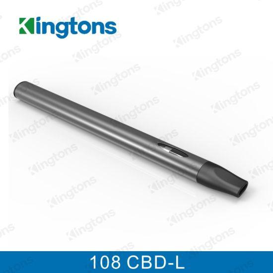 China Kingtons Wholesale Vaporizer Pen Ceramic 108 Cbd-L Cbd
