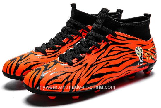 9b3d94d5afe China New Design High Cut Soccer Shoes Men′s Football Boots (026 ...