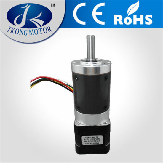 High Quality 42mm Brushless DC Motor with Planetary Gearbox