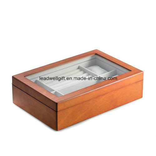 Wood Watch Box Display Case and Storage Organizer Jewelry Box pictures & photos