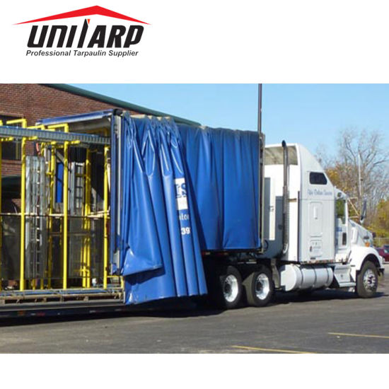 Printable High Quality PVC Tarp Curtains For Truck And Container