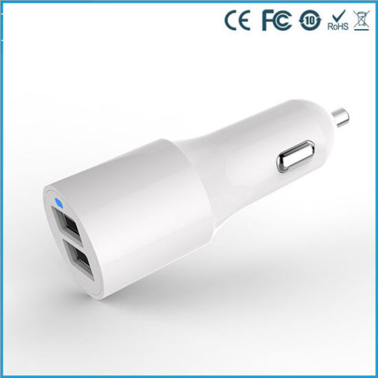 Mobile Phone Accessories 4.8A Portable 2 Port USB Car Charger