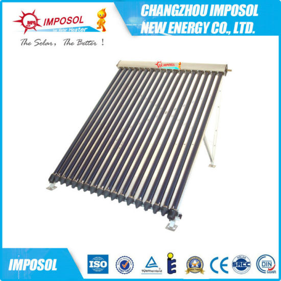 High Pressurized Vacuum Tube Heat Pipe Solar Collector pictures & photos