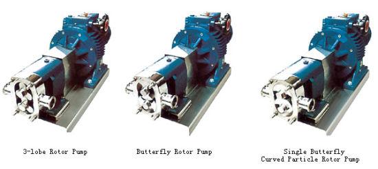 Stainless Steel Sanitary Lobe Rotary Dosing Pump