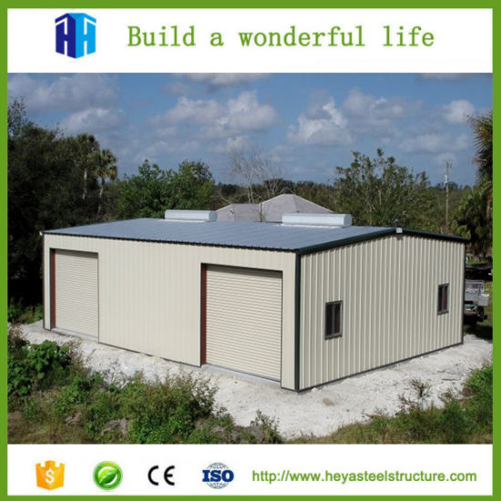 Perfect Low Cost Factory Workshop Steel Structure Building Car Garage Design