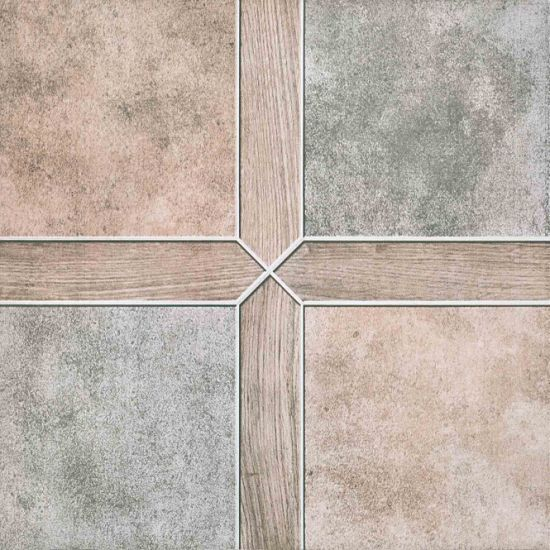 China Parquet Porcelain Ceramic Floor Tile Glazed Floor Tile Rustic