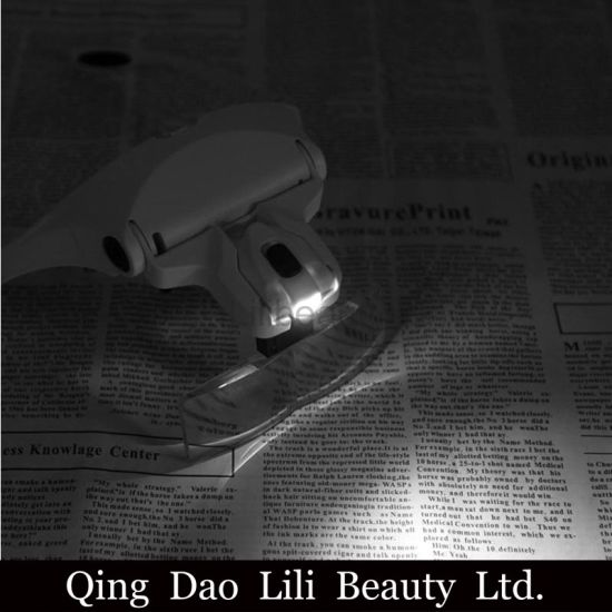 Lilibeautyltd 5lens Headset Deluxe Magnifier Magnifying Glass Eyelash Extension Lash Extensions Near Me pictures & photos