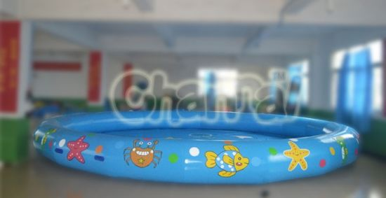 Large Ocean Theme Inflatable Swimming Pool for Water Games (chw314) pictures & photos