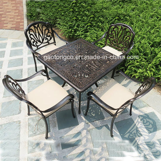 Antique Reproduction Outdoor Furniture Dining Set Cast Aluminum Dining Chair  From China - Antique Reproduction Outdoor Furniture Dining Set Cast Aluminum