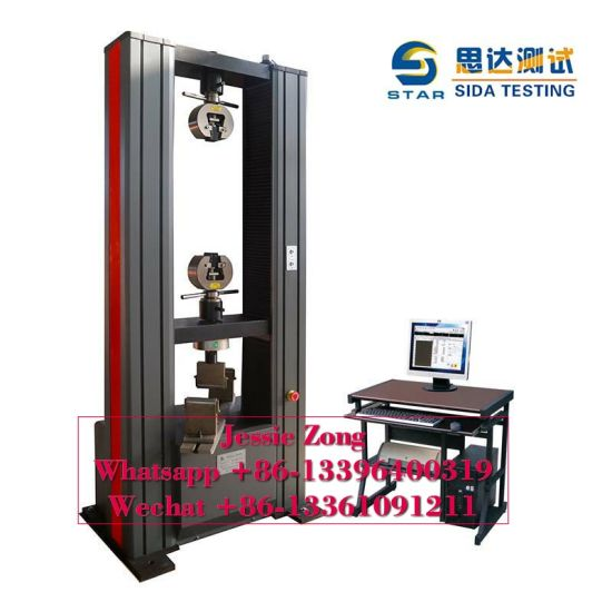 100kn Net Rope Material Usage Computer Control Electronic Universal/Tensile Testing/Test Instrument/Tester/Equipment/Machince