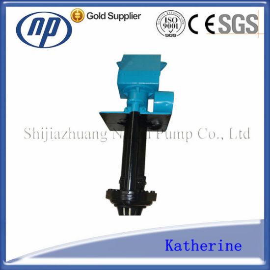 Overhung Vertical Rubber Lined Slurry Pump (100ZJLR)