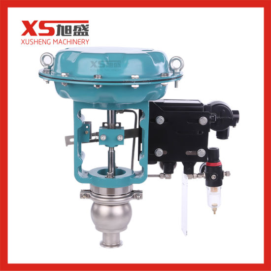Stainless Steel Sanitary Automatic Membrane Control Valve with 4~2mA Positioner
