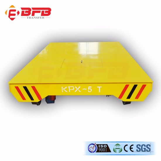 Shelf Platform Material Cart Used in Shipbuilding Industry (KPX-6T) pictures & photos