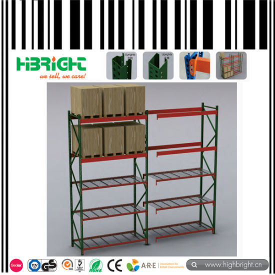 Light Duty Metal Storage Long Span Storage Racks pictures & photos