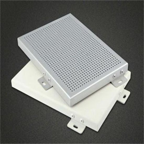 Jiyu 2mm-4mm Aluminum Solid Panel for Exterior Wall Decoration