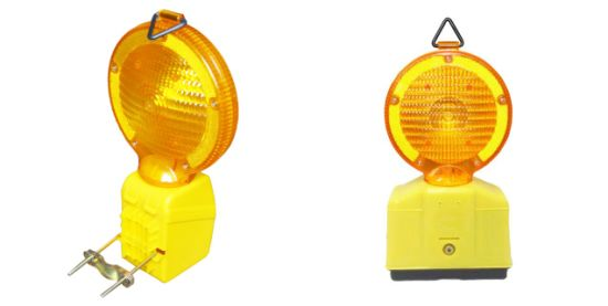 Professional Polypropylene (PC) Garden Safety LED Flashing Lamp for Traffic Block pictures & photos