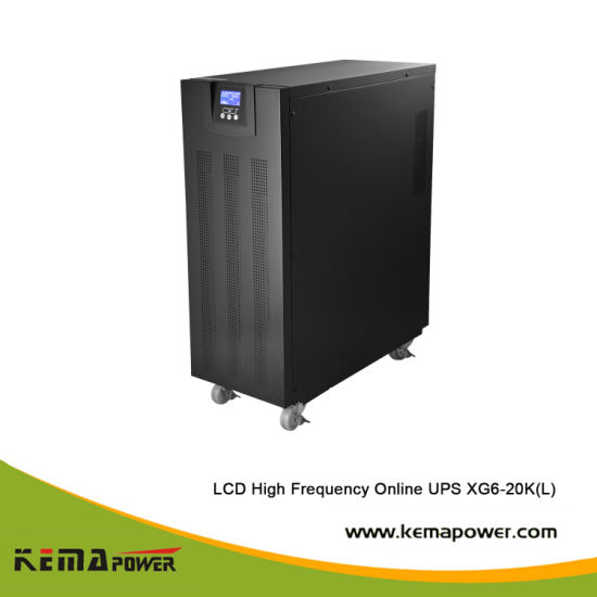 High Frequency UPS 6kVA Battery Backup Online Uninterruptible Power Supply