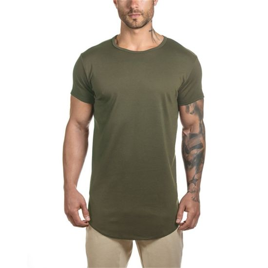 901d4308c China Embroidery Wholesale Slim Fit Lycra T Shirt for Men - China ...