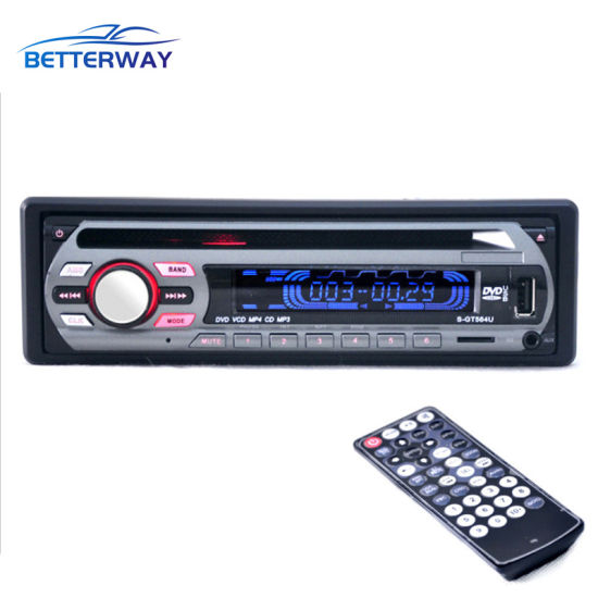 Car CD VCD DVD Audio Multi Function Vehicle Remote Control MP3 Player pictures & photos