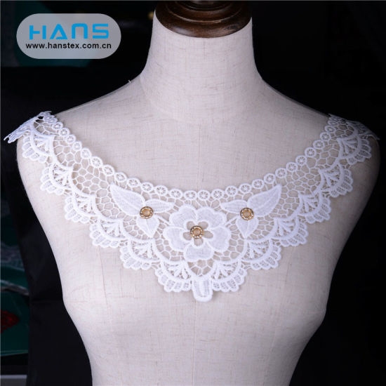 Hans Factory Hot Sales Apparel Crochet Lace Collar pictures & photos