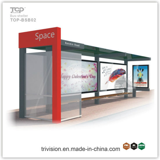 Fine Quality and Durable Light Box--City Bus Shelter for Advertising pictures & photos