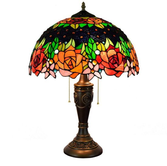 China Wholesale Price Stained Glass Lamp Tiffany Table Lamp China Tiffany Table Lamp Stained Glass Lamp