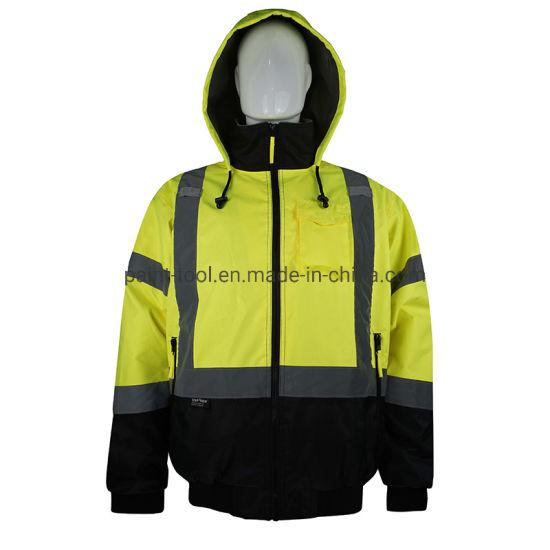 Hi-Vis Windproof Breathable Antifouling Work Uniform Safety Work Clothes