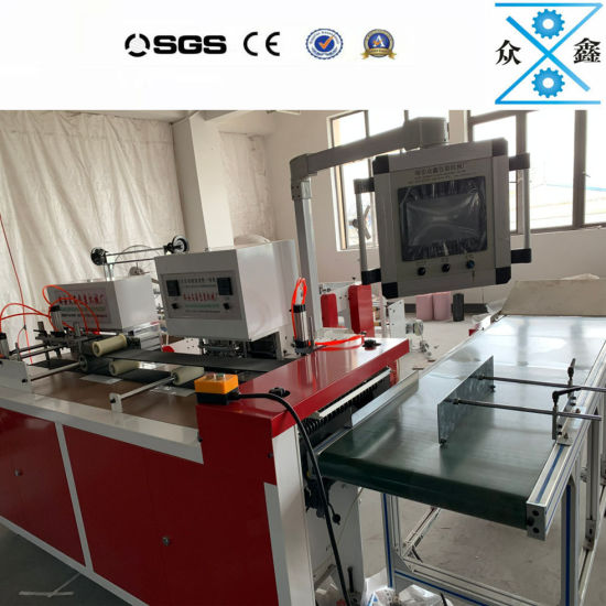 Automatic Biodegradable Shopping Bag Making Machine for Handle Bag