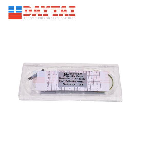 Steel Tube 1X 2 Bare Fiber Optic PLC Splitter