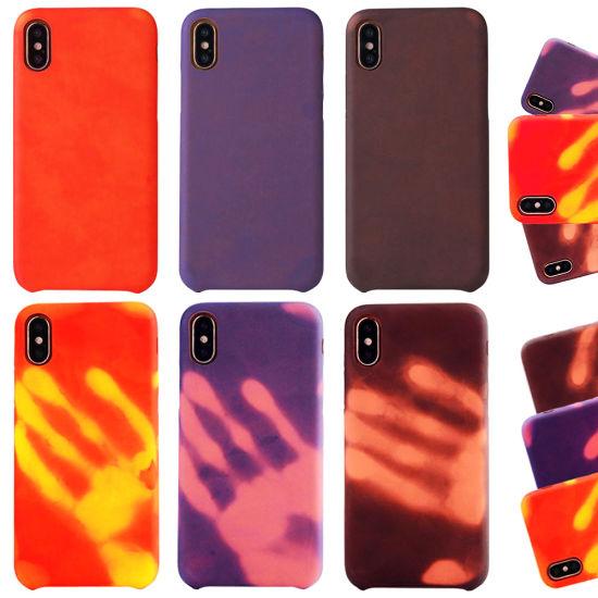 online retailer 38f52 6673d China Sinbeda Discoloration Thermal Sensor Case for Samsung S7 S8 S9 ...