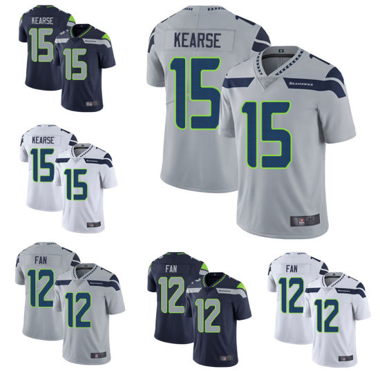 outlet store 1b6ac 53eaa Custom Mens 12th Fan Cortez Kennedy Ameican Football Player Jersey