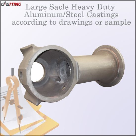 Large size steel alloy castings