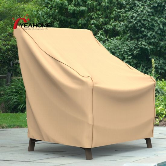 Tan Outdoor Chair Covers Seat Furniture