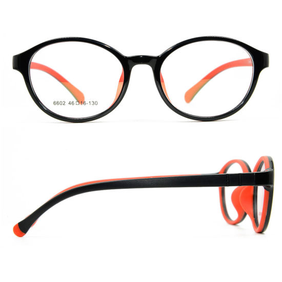 New Hot Sale Best Quality Comfortable Tr90 Spectacle Frames Kids Optical Glasses Frame Safe for Teenagers